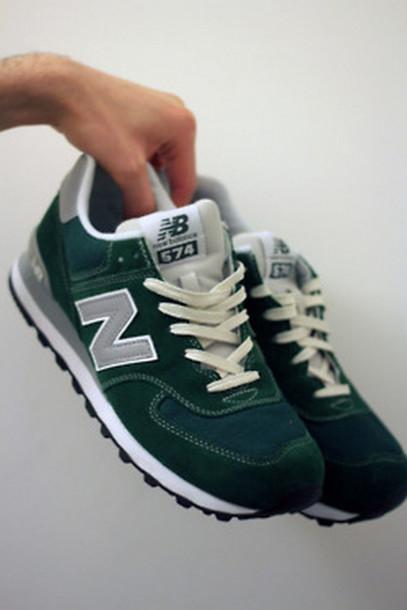 new balance green 574
