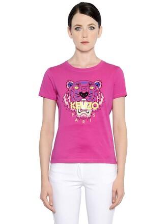 t-shirt shirt tiger cotton top