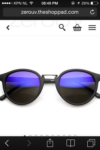 sunglasses cat eye sunglass blue black cats eye