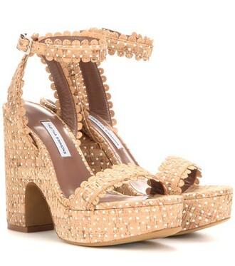 sandals beige shoes