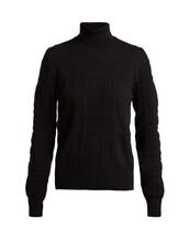 sweater,black,knit