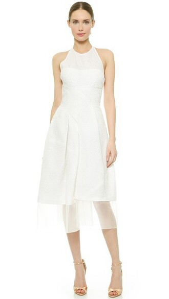 dress halter neck dress