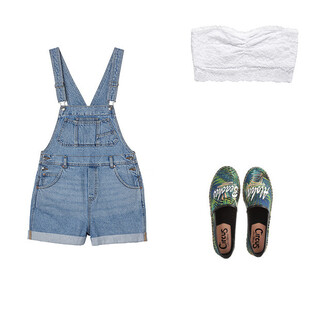 romper denim flats lace white lace lace top lace bandeau summer overalls demin overalls espadrilles bandeau summer outfits
