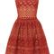 Guipure lace sleeveless dress | moda operandi