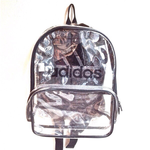 bag See through bag adidas transparent