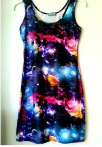sukienka galaxy romwe kosmos S 36 mini (4120483968) - Allegro.pl - Więcej niż aukcje.