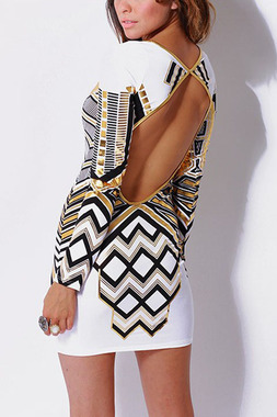 Liberian girl mini dress