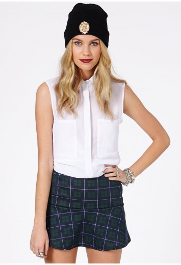 Ailey Tartan Skirt - Skirts - Missguided