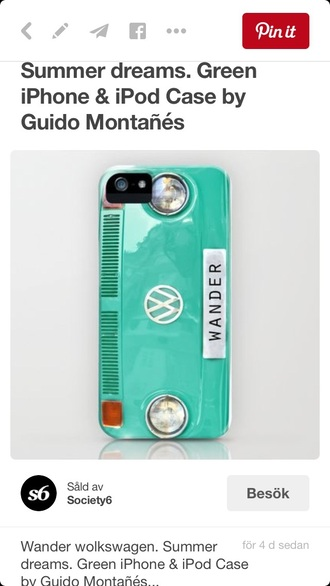 phone cover volkswagen volkswagen bus teal iphone cover iphone case cool wanderlust bikinis
