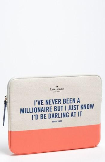 kate spade new york 'millionaire' iPad sleeve   Nordstrom