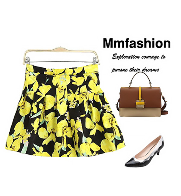 skirt skirt summer outfits fabulous bag shose streetstyle