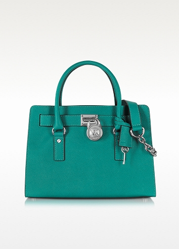 Michael Kors Hamilton EW Satchel at FORZIERI