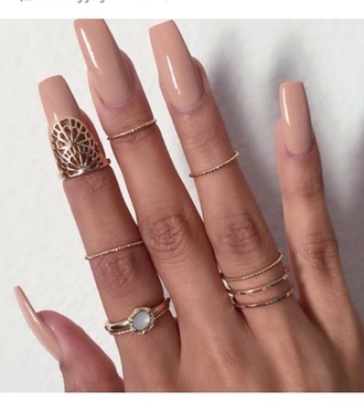 jewels knuckle ring ring gold midi rings