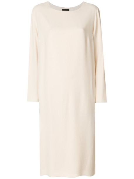The Row dress loose women spandex fit nude