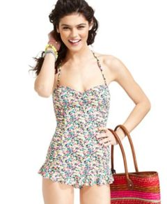 ONE PIECE FLORAL BATHING SUIT on The Hunt