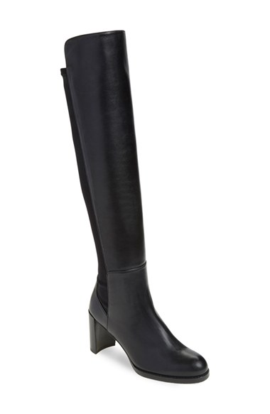 Weitzman \'Soho\' Tall Elastic Back Boot (Women) (Nordstrom ...