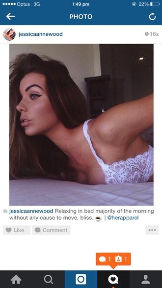 underwear bralette girl babe love white lace bra bikini tanned long hair dress top jeans heels