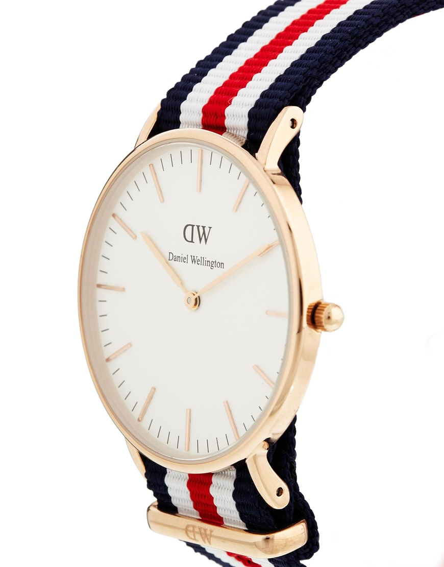 Daniel Wellington Classic Canterbury Watch at asos.com