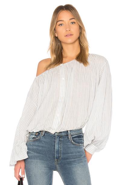 Nili Lotan blouse white top