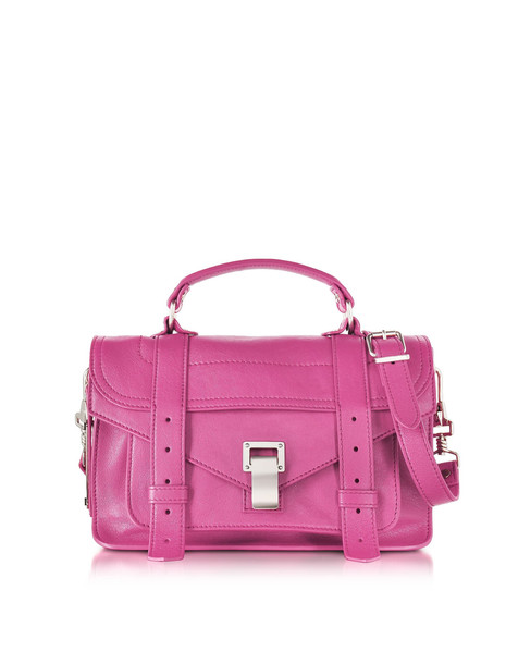 satchel bag satchel bag leather lilac