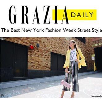 pants yeah bunny loose new york fashion week
