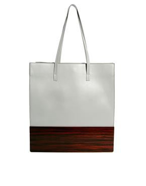 ASOS | ASOS – Shoppertasche mit Holzboden bei ASOS