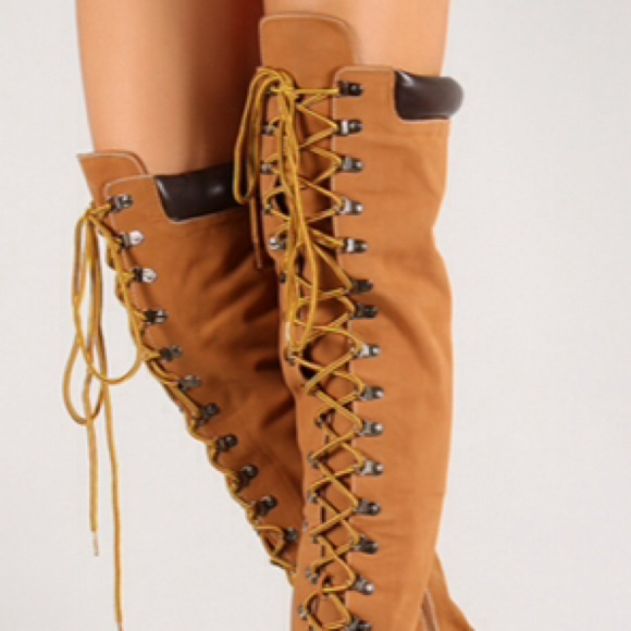 bbdc96b71144 36% off Timberland Style Shoes - Thigh High Timberland Style High ...