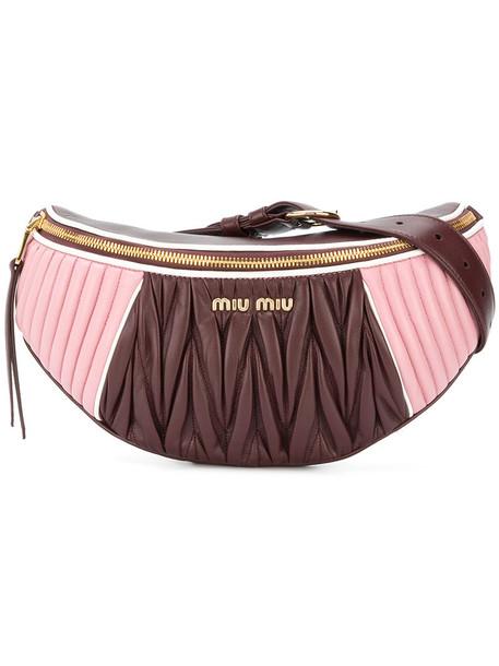 belt bag women bag brown