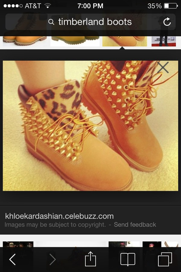 shoes spikes nude boots studs