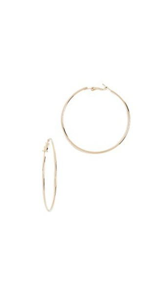 earrings hoop earrings gold yellow jewels