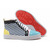 green and yellow christian louboutin louis tartan sneakers women