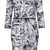 Foil Print Zip Bodycon Dress - Dresses  - Clothing  - Topshop