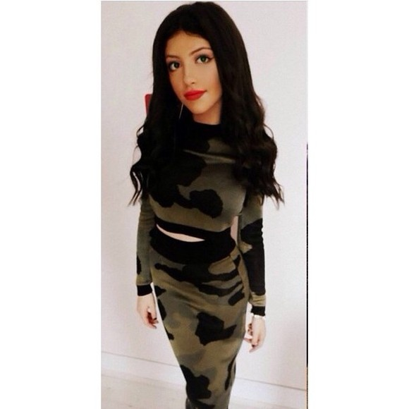 one piece dress khaki army olive, military, jacket, army style jacket army green green dress army green dress cotton dress bodycon dresses