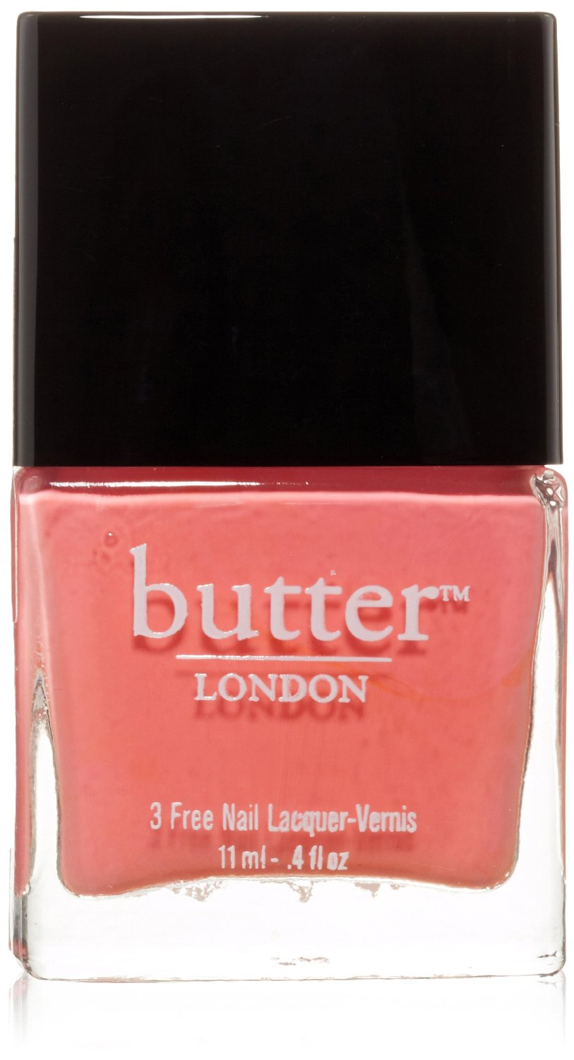 Amazon.com: butter london nail lacquer, white & pink shades, trout pout: beauty