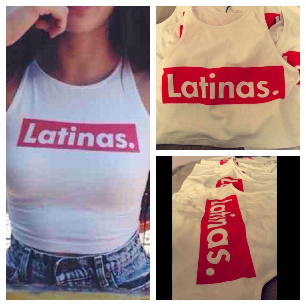 Latinas crop top