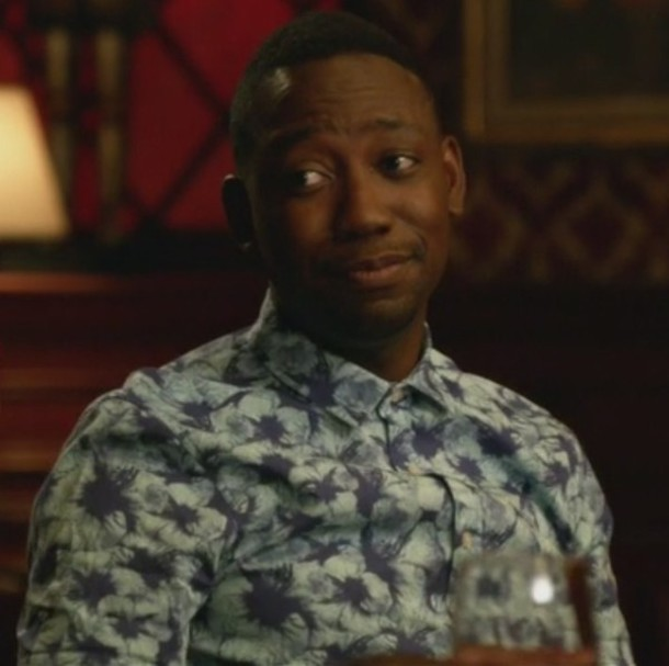 shirt men shirts printed shirt lamorne morris new girl winston bishop