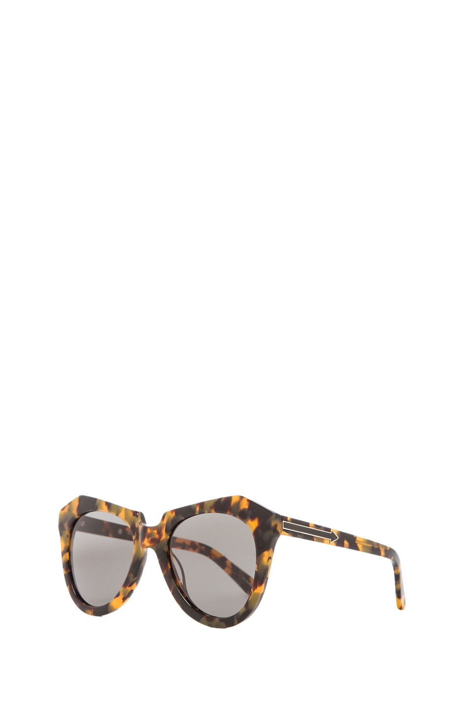 Karen Walker gafas sol number one en Crazy Tort | REVOLVE