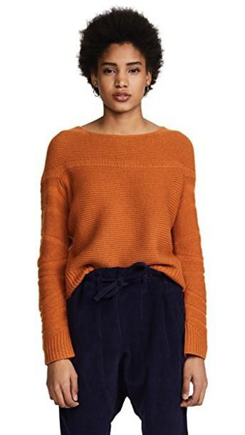 Zero + Maria Cornejo pullover cropped sweater