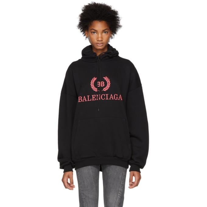 Balenciaga - Black BB Hoodie