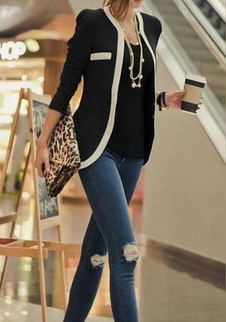 cardigan blouse blazer white fashion fall jacket style spring outfits kimono pants heels shoes top