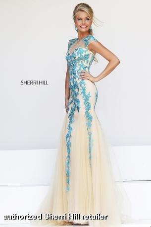 Prom Dresses 2014 -  Sherri Hill 1927  Lace Mermaid
