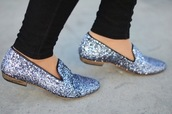 shoes,sparkle,flat boots