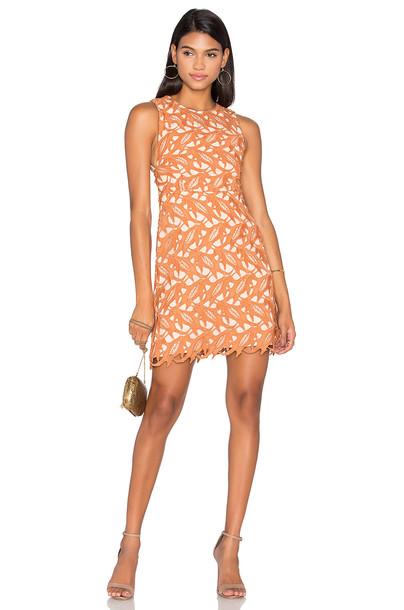 Keepsake dress lace dress lace peach