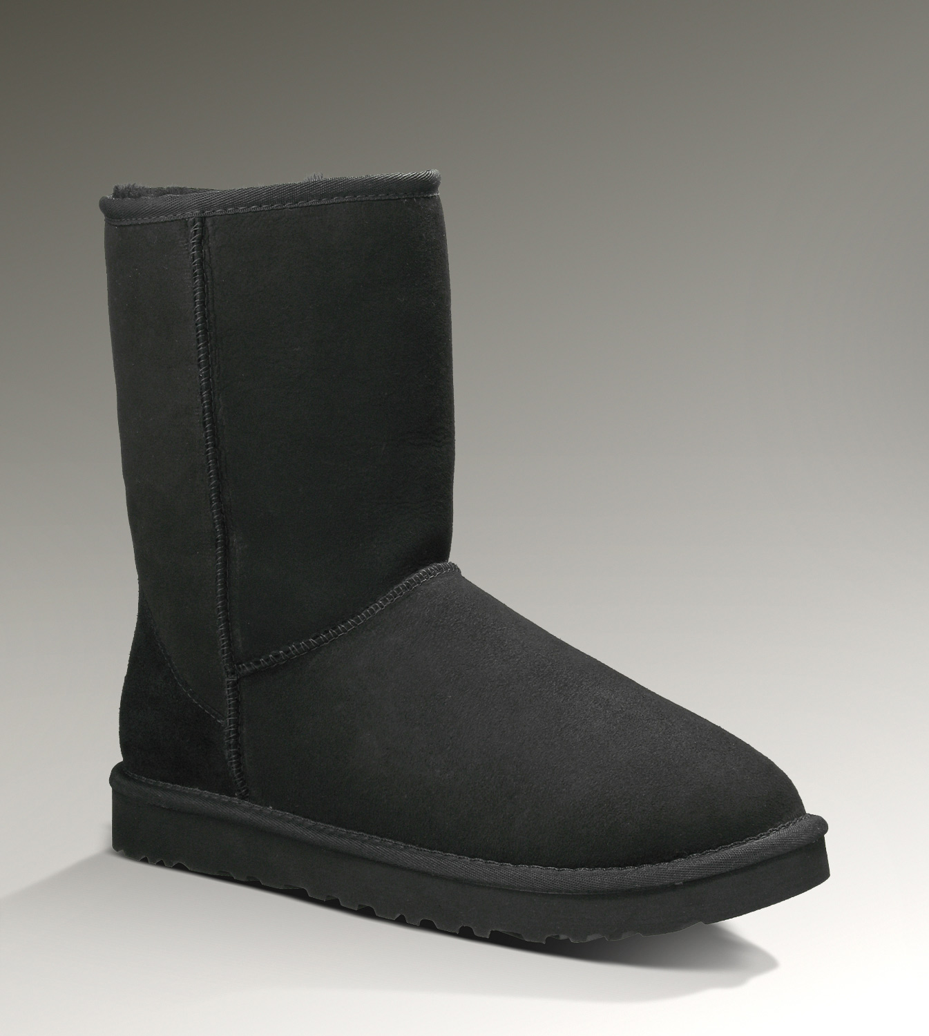 UGG Classic Short Stivali 5800 Nero [UGG Boots-345] - €92.54 : Ugg Boots Outlet online, footuggboots.com