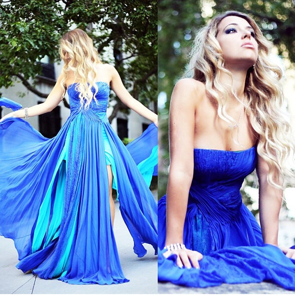 dress prom blue elegant blonde hair green pretty dance shoes summer girl prom dress maxi dress