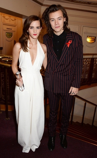 harry styles emma watson mens suit jumpsuit jacket