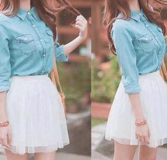 skirt white skirt princess white white dress jersey tumblr girl