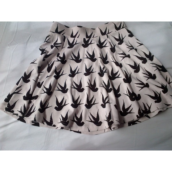 The Bird Skirt - H&M - Polyvore