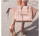bag,tote bag,handbag,celine,smile bag tan,amazon
