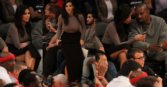 kim kardashian skirt long sleeves shirt shoes